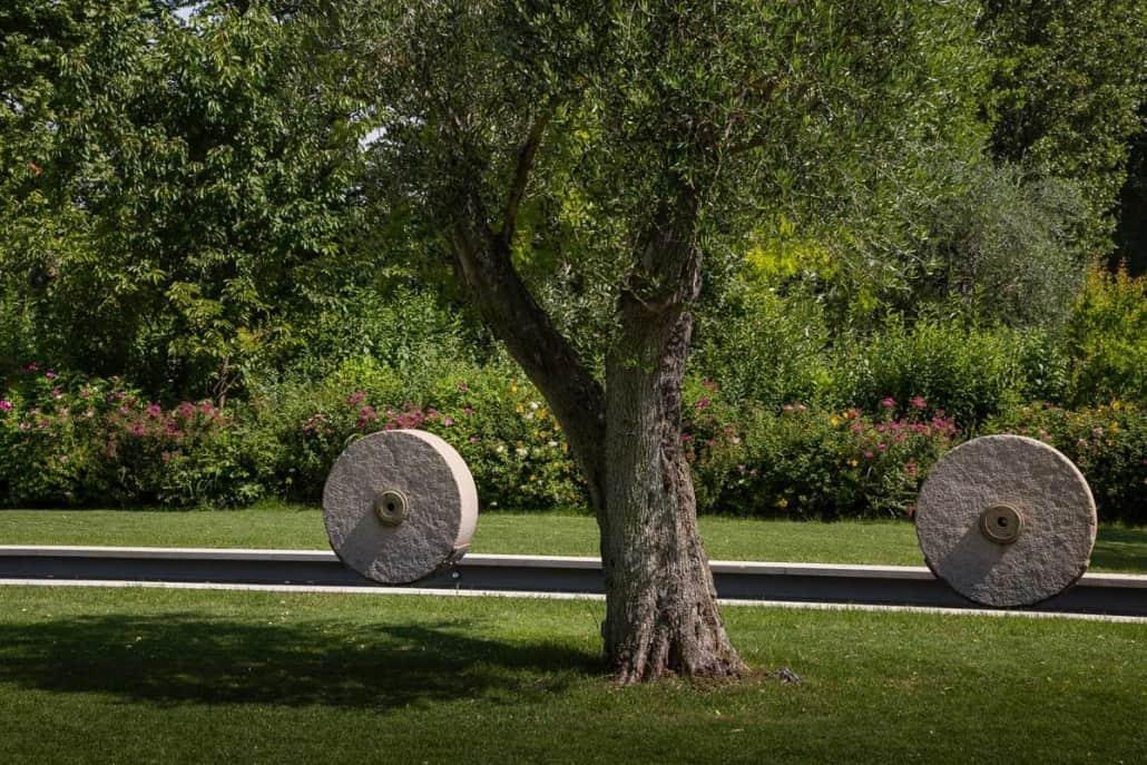 Realizzazione giardino aziendale- Luciano Caprini Garden Designer