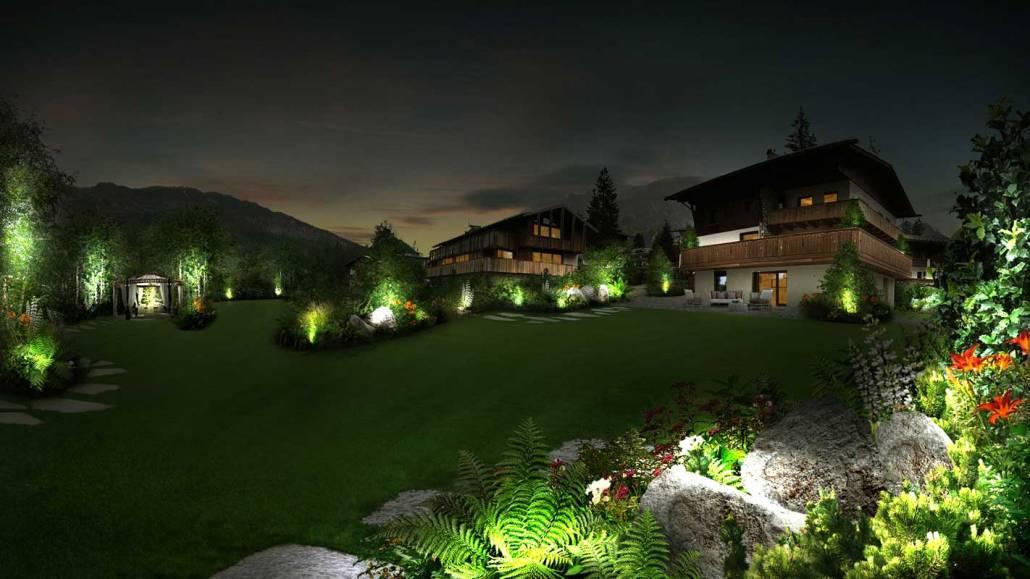 Progettazione giardino a Cortina d'Ampezzo