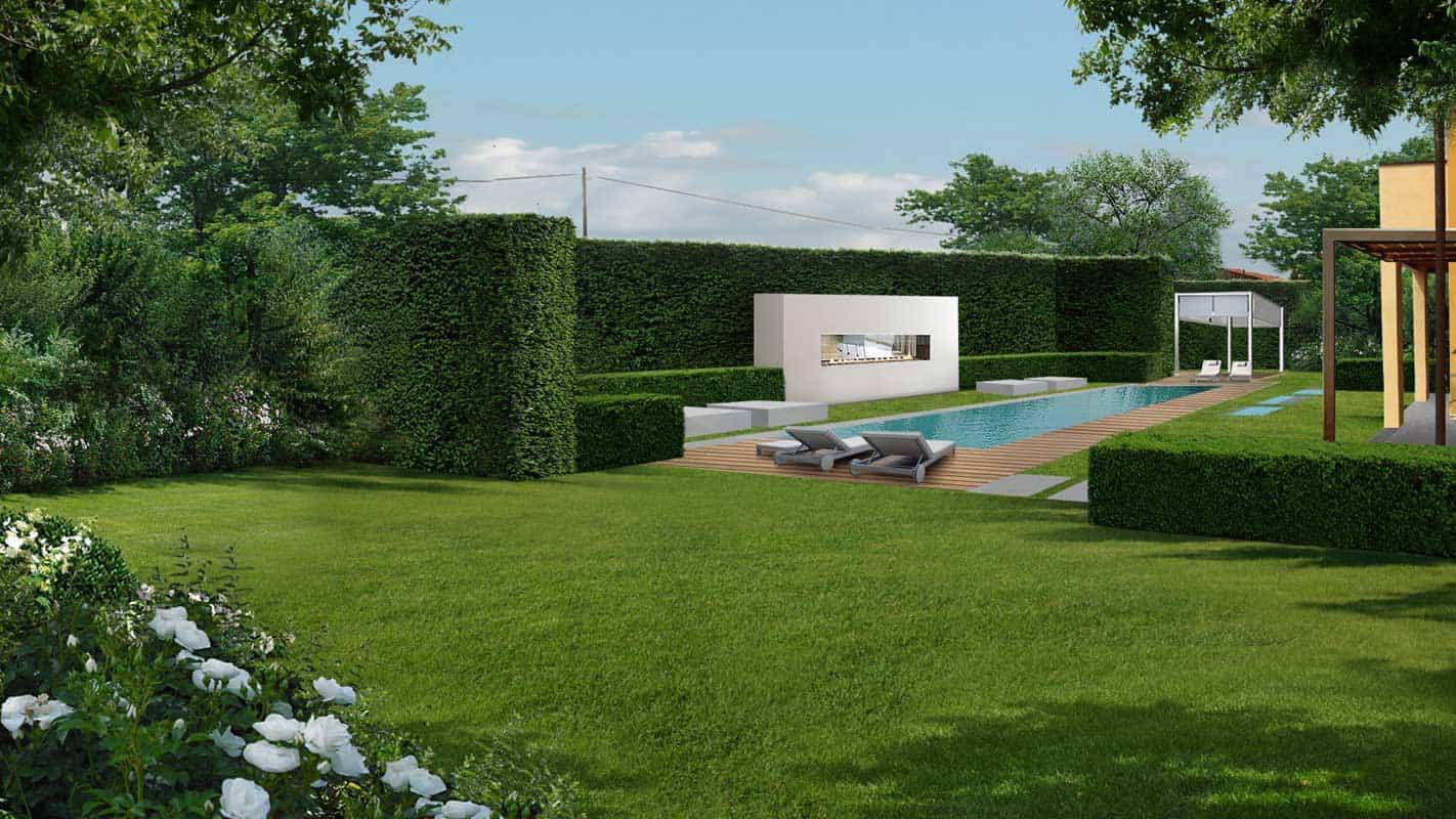 Siepi Miste Da Giardino progettazione giardino contemporaneo | luciano caprini
