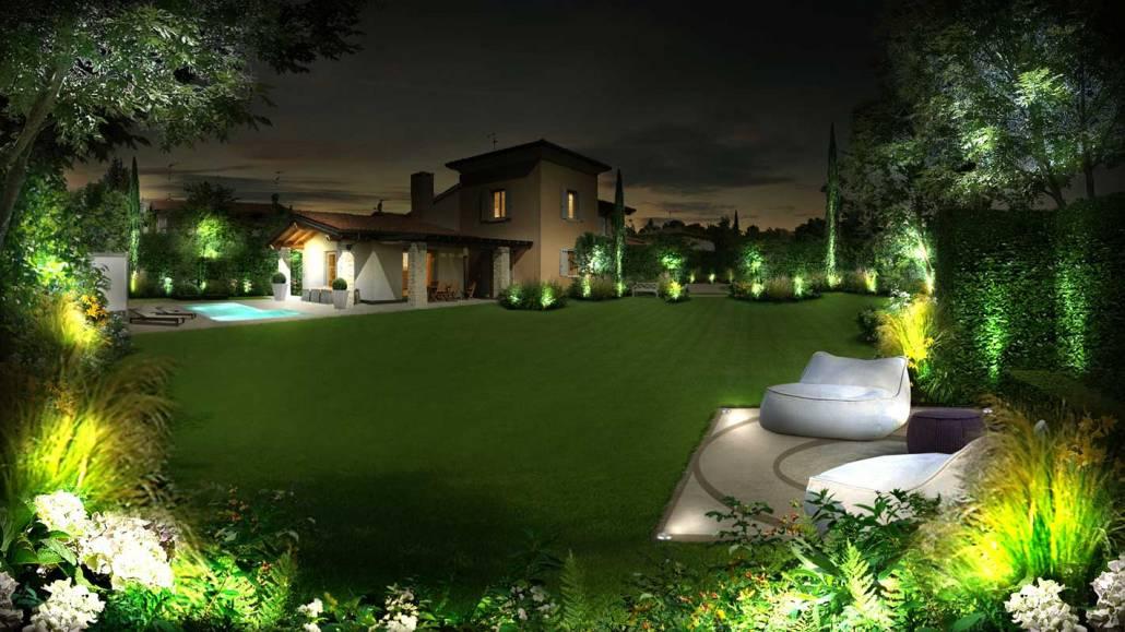 Progettazione giardino domestico
