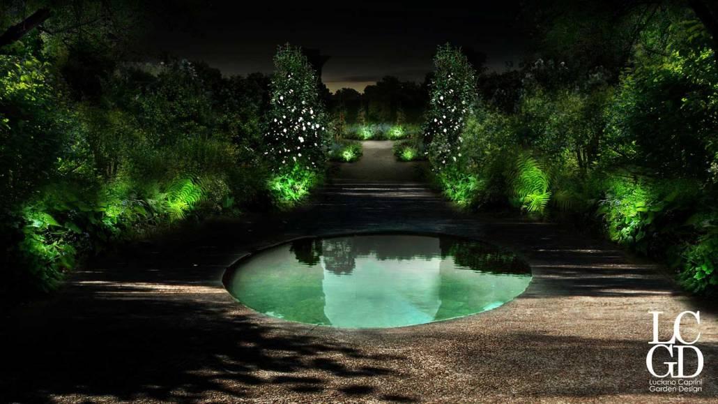 Progettazione giardino golf Castrezzato