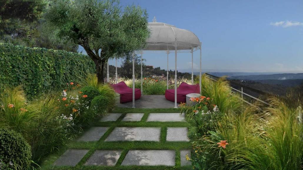 Progettazione giardino in Puglia