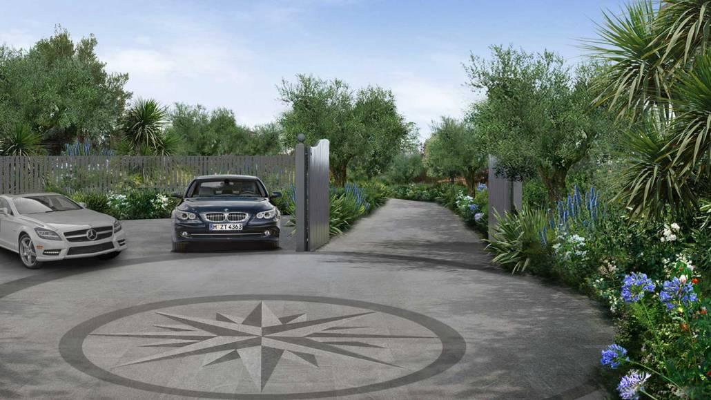 Progettazione giardino mediterraneo