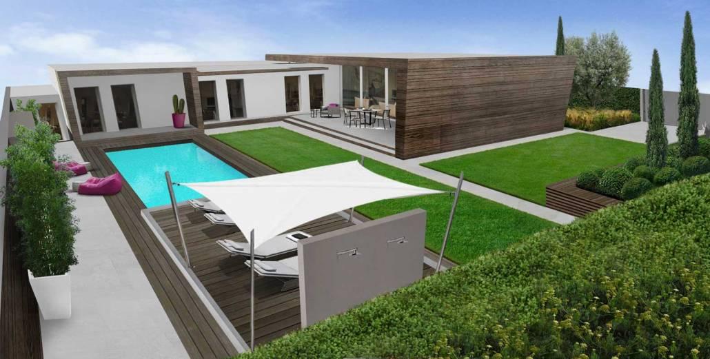Progettazione giardino minimale