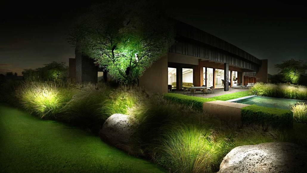 Progettazione giardino moderno