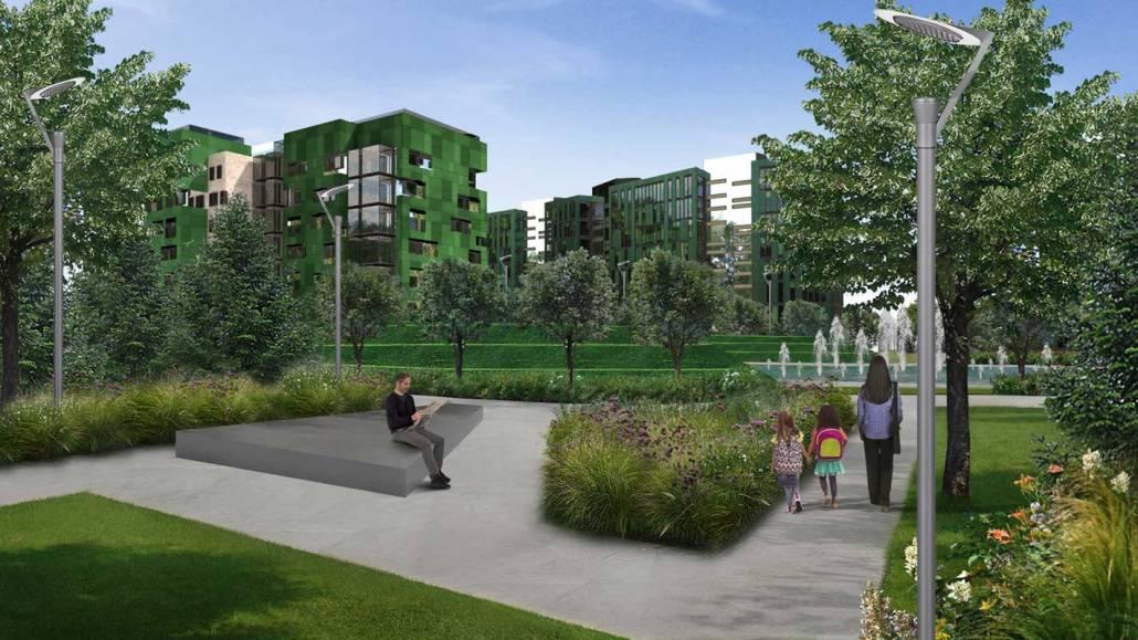 Progettazione giardino residenziale