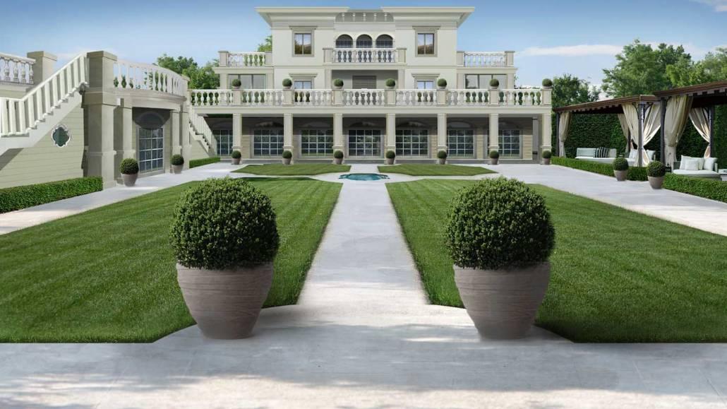 Progettazione giardino stile italiano