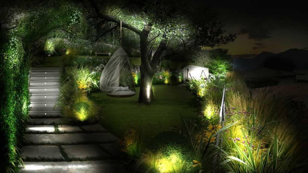 Designing a garden on Lake Como