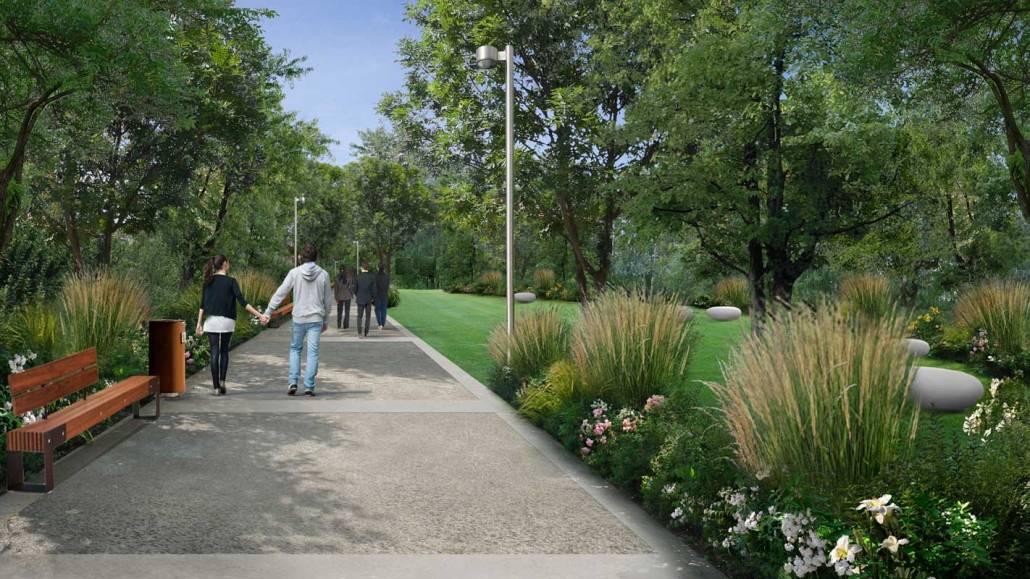 Progettazione parco - Luciano Caprini garden designer