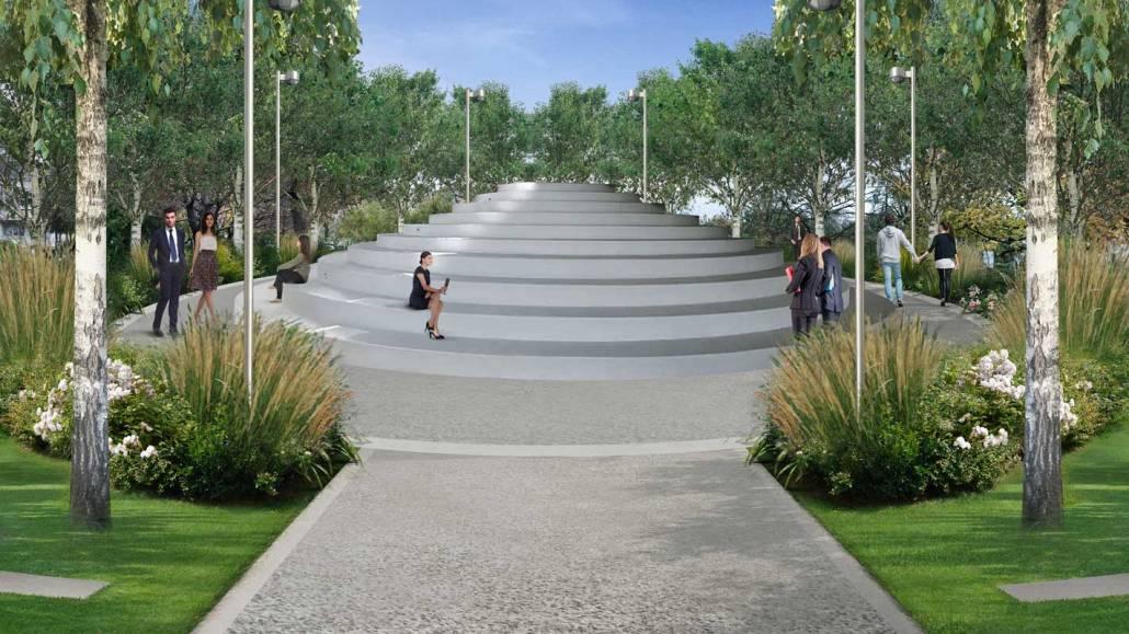 Progettazione parco giochi - Luciano Caprini garden designer