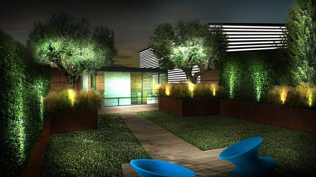 Progettazione terrazza aziendale