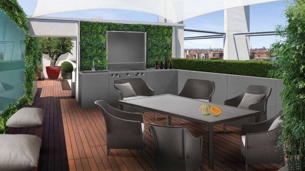 Progettazione terrazza fashion
