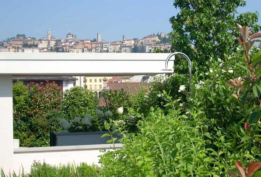 Realizzazione roof garden - Luciano Caprini Garden Designer