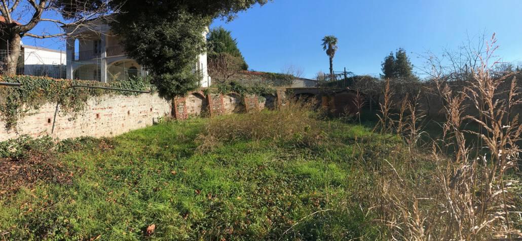 Progettazione giardino palazzo storico