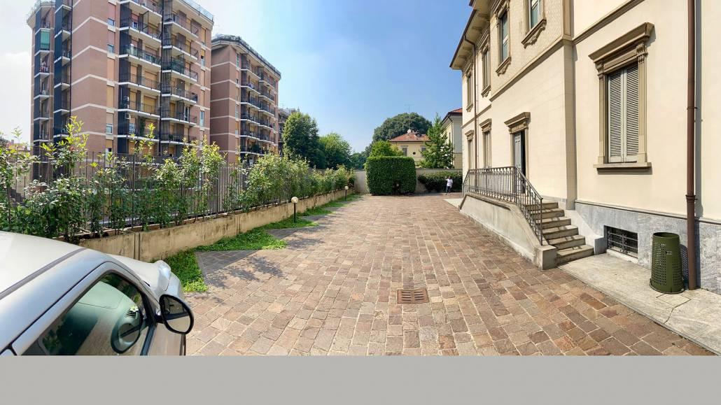 Progettazione giardino contemporaneo a Monza