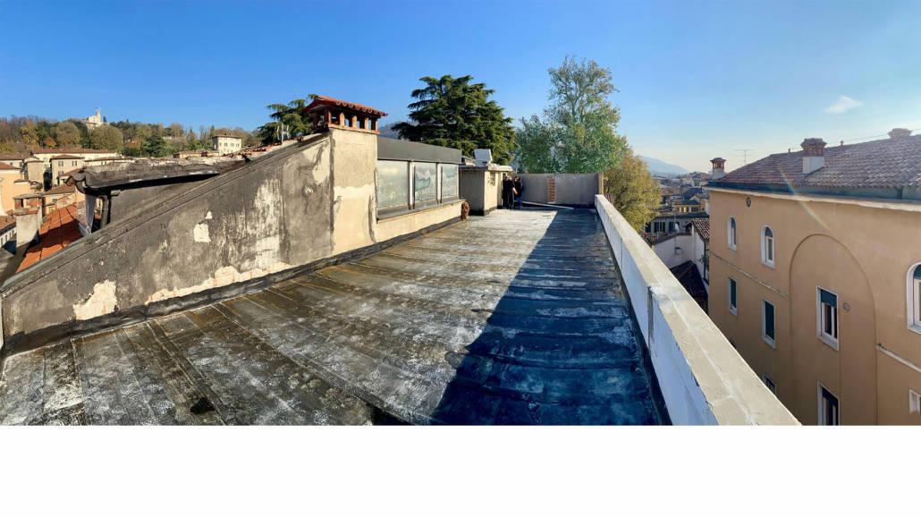 progettazione terrazza attico brescia